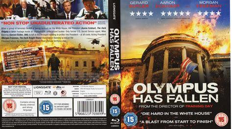 olympus has fallen film gratis olympus has fallen blu ray cover label 2013 r2