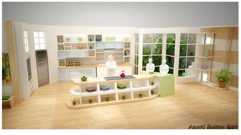 Tv In Kitchen Ideas Kitchen Design For A Tv Show By Alliserdem On Deviantart