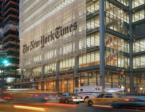 sede new york times arquiteto renzo piano biografia e maiores obras