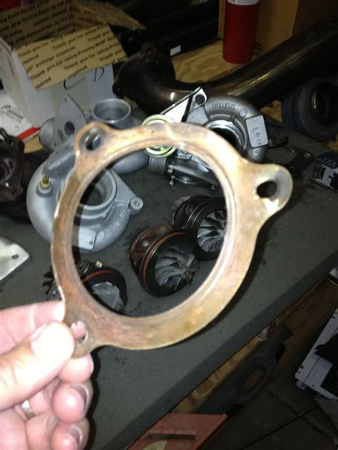 gasket  downpipe  turbo flange volvo forums volvo enthusiasts forum
