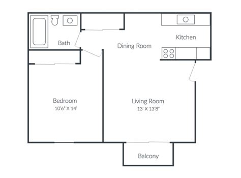 550 square feet floor plan richmond hills apartments