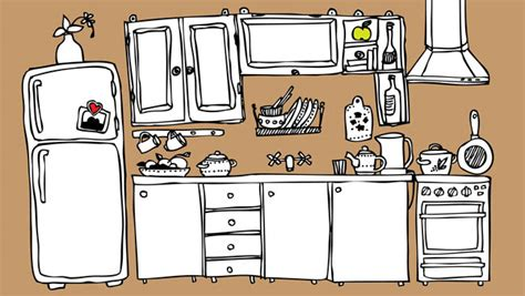 kitchen cartoon cool storage for that tiny studio kitchen rentcafe