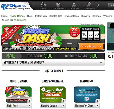 Play Pch Games - websites where you can play free online games
