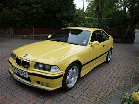 best car repair manuals 1998 bmw m3 parking system 1998 bmw m3 3 2 evo coupe dakar yellow sold car and classic