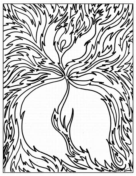 abstract coloring pages for adults and artists abstract and art coloring pages medium into hard level