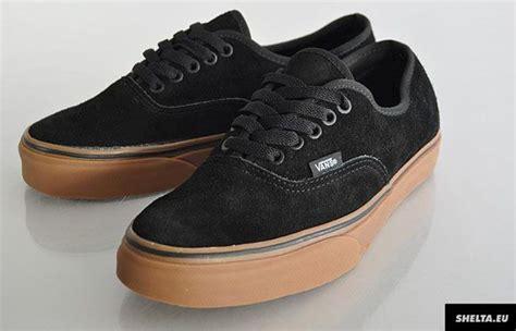 Vans Autehentic Black Gum vans authentic black gum dressing sense black sole and vans authentic