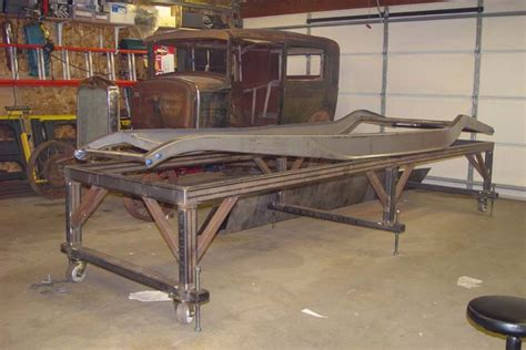 frame jig design auto frame table chassis jig diy projects welding and