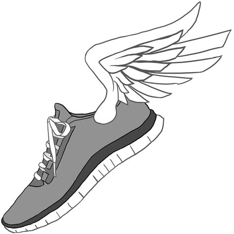 running shoes with wings clipart running shoes with wings clipart clipart best clipart best