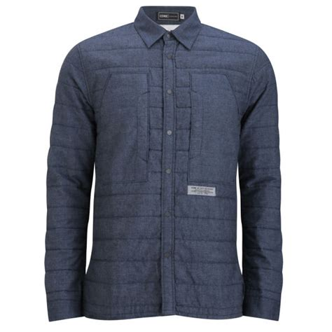 Quilted Shirt Mens by Jones S Reader Quilted Shirt Dress Blue Mens