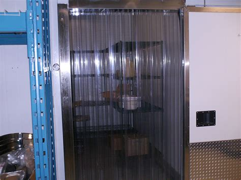 strip curtains for coolers strip door 36 in x 80 in low temp smooth 8 strip