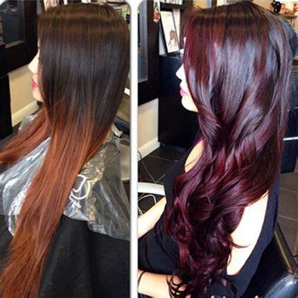 burgundy hair color formula rich burgundy merlot color formula mostly purple hair