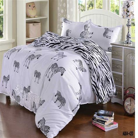 black and white full size bedding black and white zebra bedding set queen double full twin