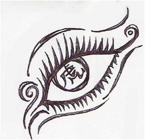 tribal pattern eye tattoo designs favourites by darkendoverseer on deviantart