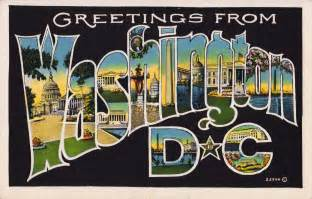 washington d c postcard roundup