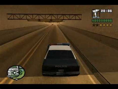 battle bounce police chase cars review gta san andreas 1