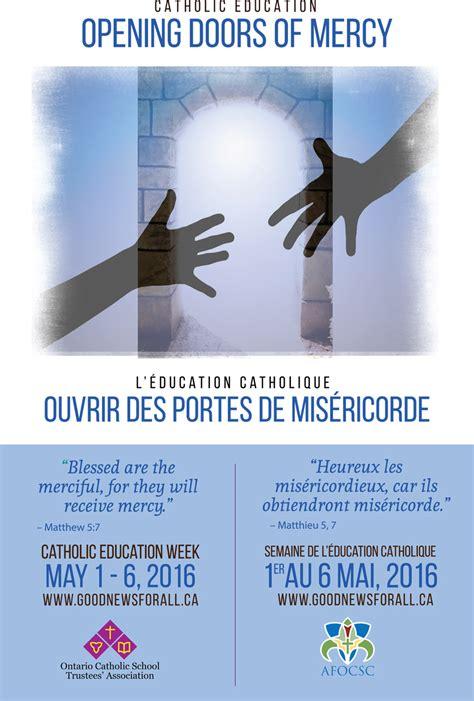 theme for education week 2013 catholic education week may 1 6 2016