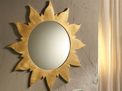 sun mirror wall decor 45 decorative wall mirrors by riflessi digsdigs