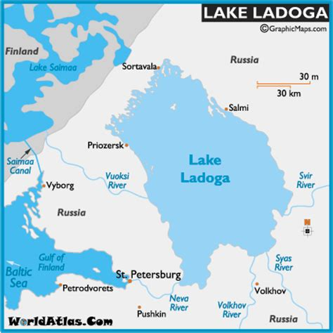 world map with major lakes image gallery lake ladoga