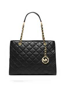 michael michael kors susannah large quilted leather chain