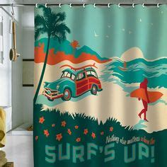 Surf Bathroom Ideas 1000 Images About Bathroom On Pinterest Surf Shower Curtains And Nautical Bathrooms