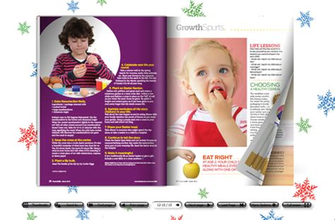 make funny kids magazine with amazing page flip effect