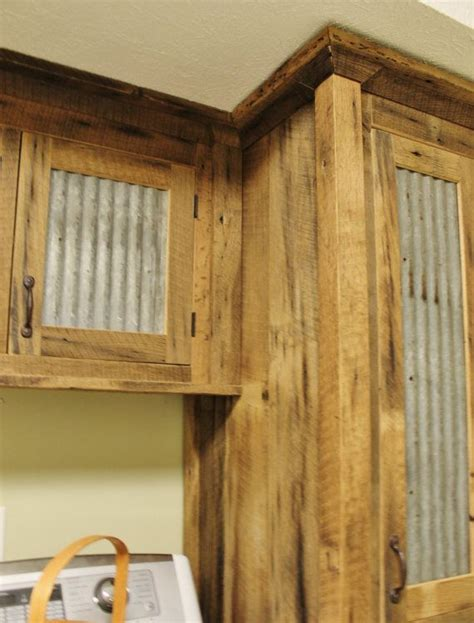 rustic tall storage reclaimed barn wood cabinet wtin