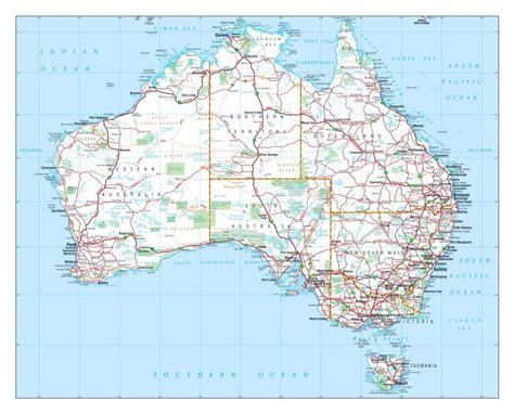 printable road atlas new large detailed map of australian roads atlas wall art