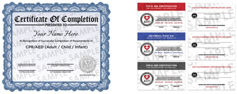 2016 Paper Cpr Card Template by Basic Aid Certificate Template Images Certificate