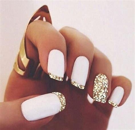 decorados de uñas blanco uas de gel decoradas sencillas uas decoradas uas