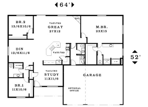 great room house plans one story amusing 2 story great room house plans ideas best