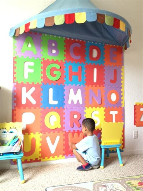 Discover Abc And Number Foam Mat - glue foam floor letters to the wall alphabet foam wall