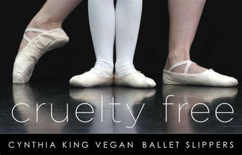 cynthia king ballet slippers vegan ballet shoe options