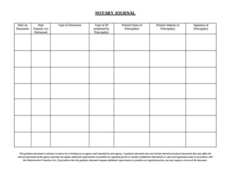 3 Notary Journal Templates Pdf Free Premium Templates Notary Record Book Template