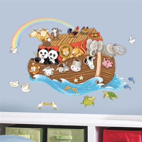 noah ark wall stickers noahs ark wall decals