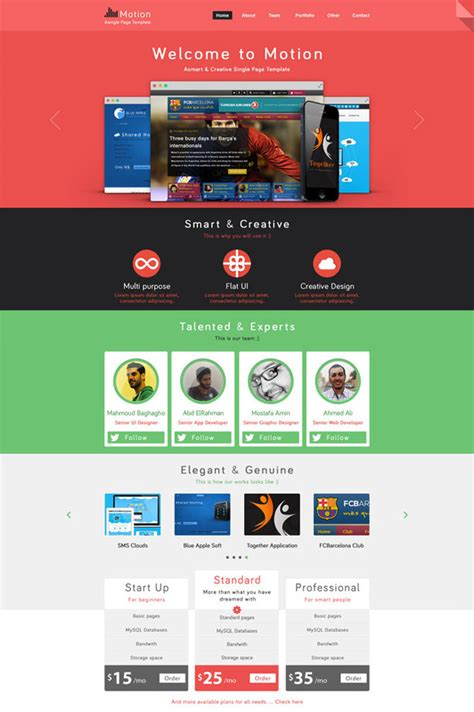 psd website templates free high quality designs 20 free high quality psd website templates hongkiat