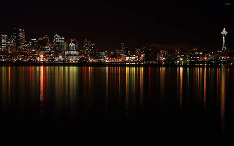 city light and water city lights at wallpaper wallpapers 47014