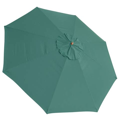 patio umbrella replacement 13 ft patio market umbrella replacement canopy green