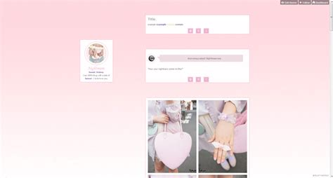 themes tumblr kawaii this blog follows back