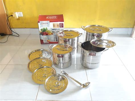 panci stainless stock pot rosh 4in1 0821 7534 3388
