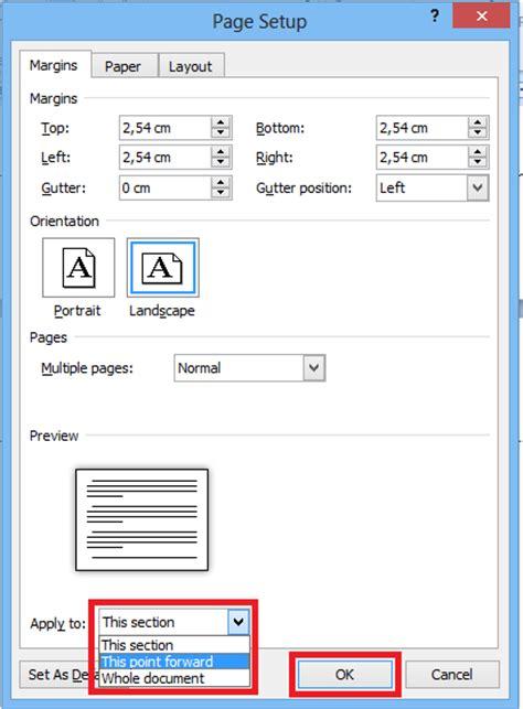 page layout view word 2010 nurhamim s blog cara pengaturan page layout yang berbeda