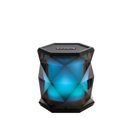 ihome color changing ihome ibt68 color changing rechargeable wireless speaker