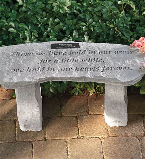 memorial garden benches stone 25 best ideas about memorial gardens on pinterest tree