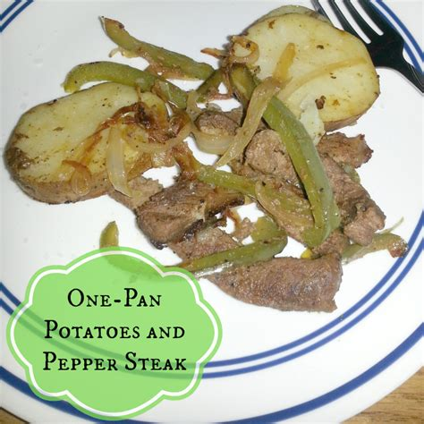 Happy Call Special Work Pan guest post one pan potatoes and pepper steak my