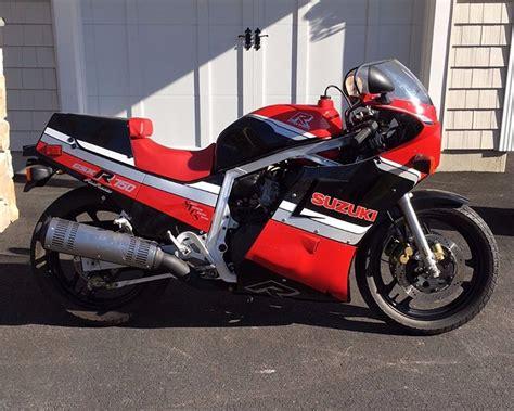 Suzuki Side By Side For Sale 1986 Suzuki Gsx R750 R Side Sportbikes For Sale