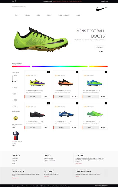 template web toko online responsive 7 template responsive keren gratis untuk website toko