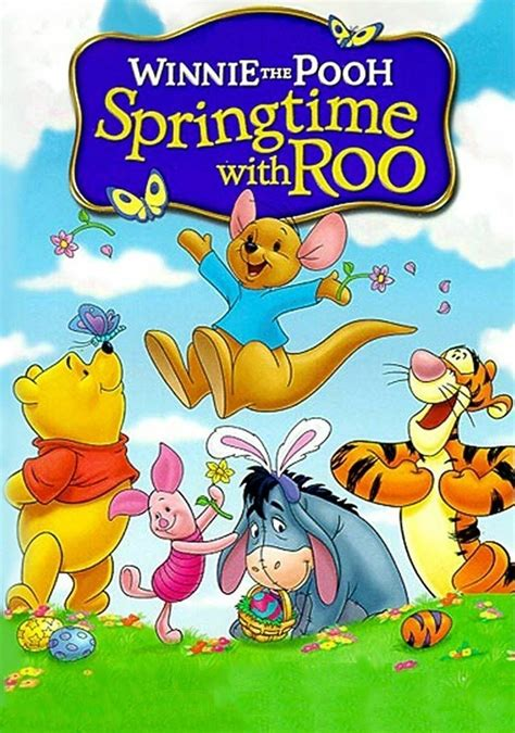 Winnie The Pooh Springtime With Roo 2014 Poster 1