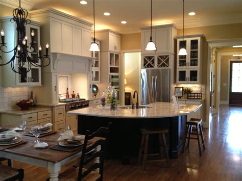 open floor plan kitchen dining and living room glamorous