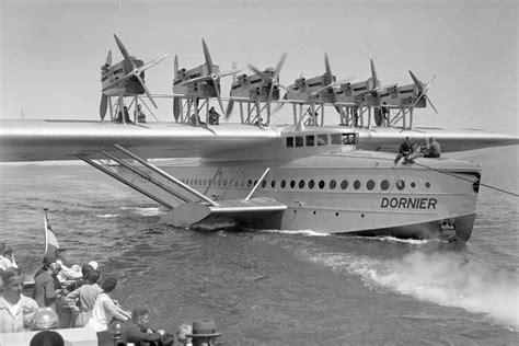 flying boat seaplane dornier do x 12 engined flying boat diseno art