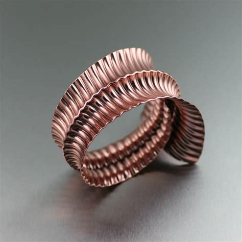 Handcrafted Copper Jewelry - handmade copper jewelry hammered copper cuffs copper
