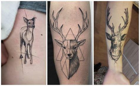 dibujos realistas significado tatuajes de ciervos y venados para hombres y mujeres